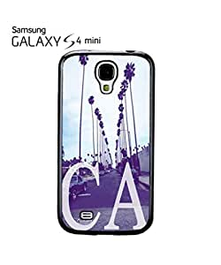 California CA Palm Springs Mobile Cell Phone Case Samsung Galaxy S4 Mini Black
