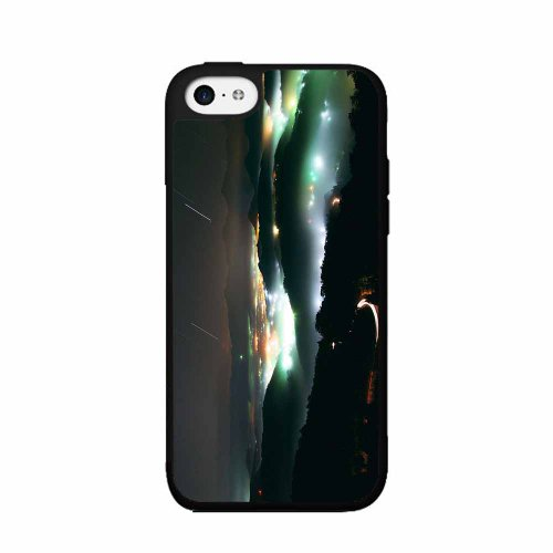 Dark Fantasy Island - Phone Case Back Cover (iPhone 4 4s - TPU Rubber Silicone) includes BleuReign(TM) Cloth and Warranty Label]()