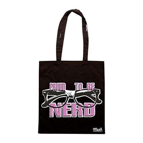 Borsa Proud To Be Nerd - Nera - Famosi by Mush Dress Your Style