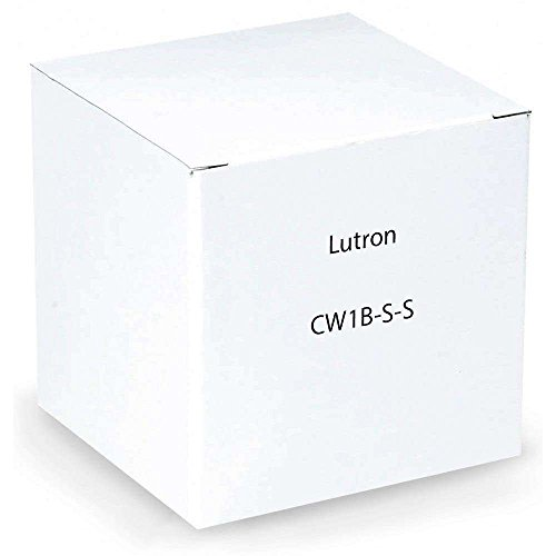 Lutron CW-1B-SS 1-Gang Stainless Steel Decorator Rocker Plastic Wall Plate Item#21069 Model#Cw-1B-Ss - Claro Stainless Steel