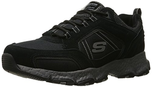 Skechers ráfaga Tech de espuma con efecto memoria Negro