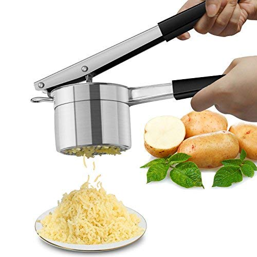 Potato Ricer, Warmhoming Stainless Steel Potato Masher for Fruit and Vegetables by Warmhoming