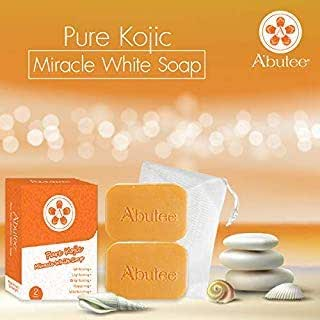 A'butee Miracle PREMIUM whitening WHIPP soap - Premium formula with FREE Delicate Net for Softening Whip Foam(2 Bars, Kojic+Net)