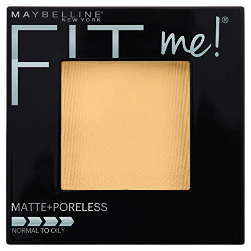 Maybelline Fit Me Matte + Poreless Pressed Powder, Classic Ivory 0.29 Ounce (Best Cream To Powder Foundation For Oily Skin)