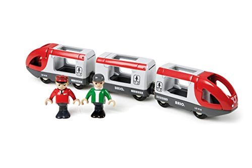 BRIO World - 33505 Travel Train | 5 Piece Train Toy for Kids Ages 3 and Up (Best Deals On Brio Train Sets)
