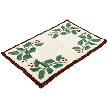 Amazon Com Lenox Holiday Nouveau Tufted Bath Rug Home