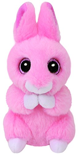 Ty Beanie Babies 36874 Basket Beanies Jasper the Pink Bunny