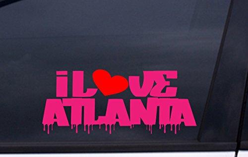 Atlanta Stadium Fulton (I LOVE ATLANTA vinyl decal 3