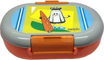 Milton Slido lunch Box, Orange(EC-THF-FTT-0027_ORANGEGREY)