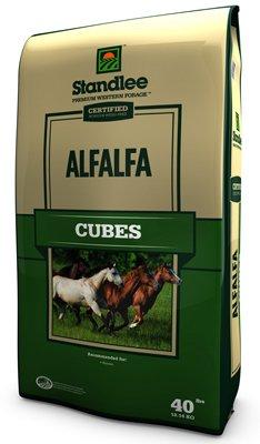 Standlee Hay Company 40 lb Cer Alfalfa (Alfalfa Cubes)