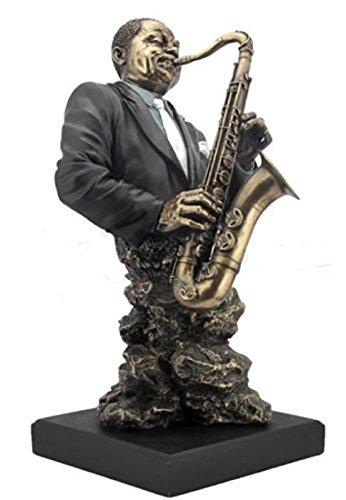 Veronese (ヴェロネーゼ) サックス サキソフォン ジャズ 音楽 ブロンズ風 フィギュア B0716Z8TL9
