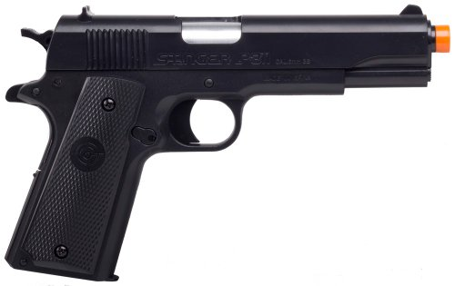 crosman stinger p311 airsoft pistol (black)(Airsoft Gun) (Best Spring Loaded Airsoft Pistol)