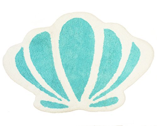 Disney Little Mermaid Ariel Seashell Tufted Bath Rug