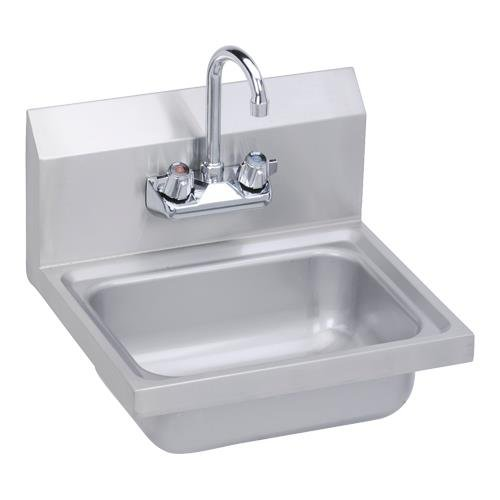 Elkay SEHS 17X Stainless Steel 300 Super Economy Hand Sink With 1 1/