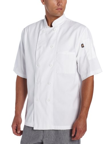 dickies chef coat - 8