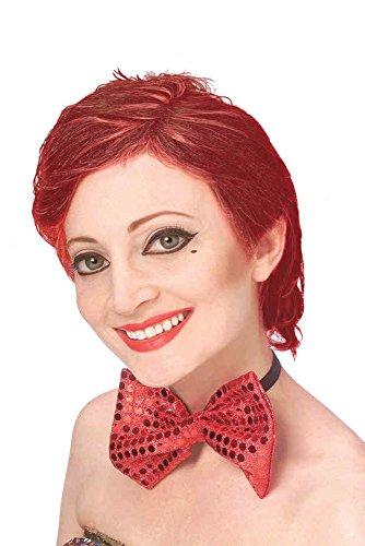 [UHC The Rocky Horror Show Character Columbia Wig Halloween Costume Accessory] (Rocky Horror Wig)