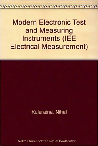 Electronic Measuring Instruments Electrical Measurement