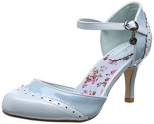 Joe Browns Femmes Style Vintage Cheville Sangle Chaussures Bleu