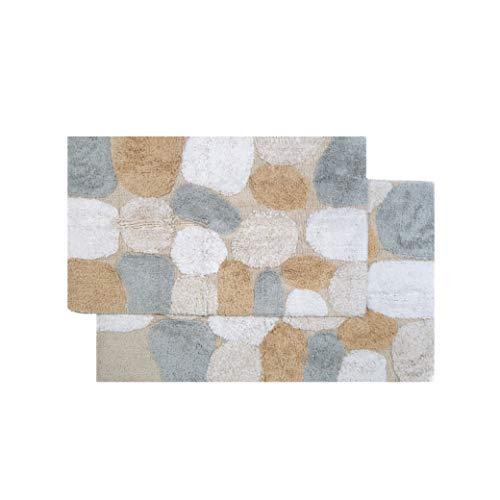Chesapeake Pebbles 2Pc. Spa Bath Rug Set 26651 (21