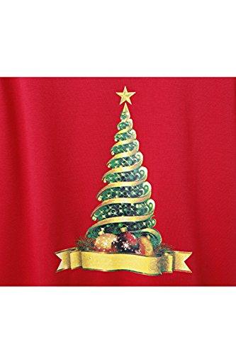 Sudadera de mujer de manga larga Navidad vacaciones