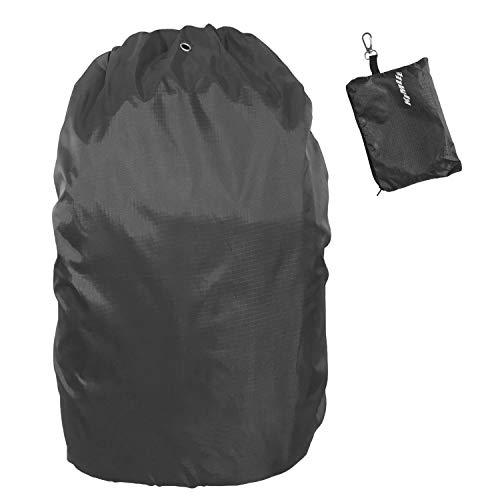 Zwarte regenhoes rugzak 60 l 70 l oversized waterdichte regenbescherming voor schooltas fiets backpack tegen regen en…