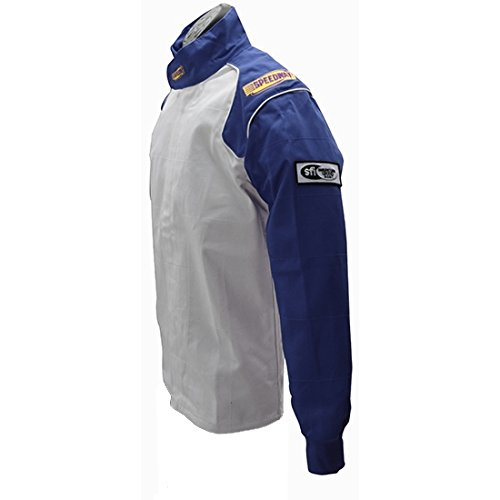 Blue Racing Jacket Only, SFI-1, Small by Speedway Motors (Image #4)