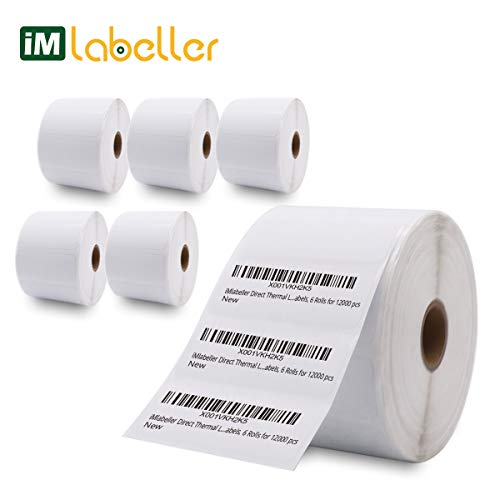 iMlabeller Direct Thermal Labels Zebra Removable 1
