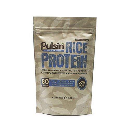 Pulsin 250g Brown Rice Protein Powder by Pulsin Ltd by Pulsin'
