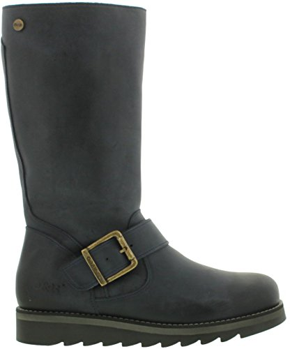 Mid Navy amp; Calf Hyde Leather Womens Mid Oak Boots Coast dXzFqvw