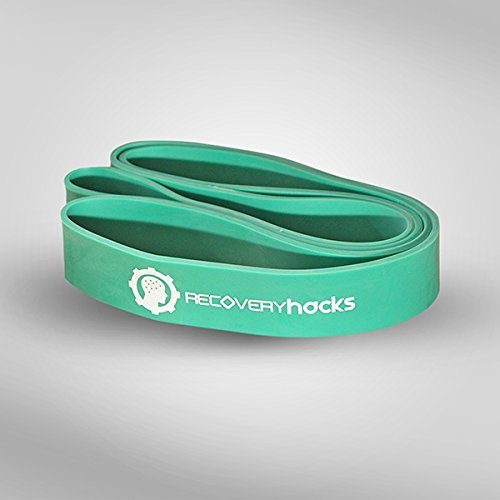 GREEN - 1.75 Inch Assisted Pull Up Band - Great for Recovery, Pilates, Resistance Training, Powerlifting, and More! …