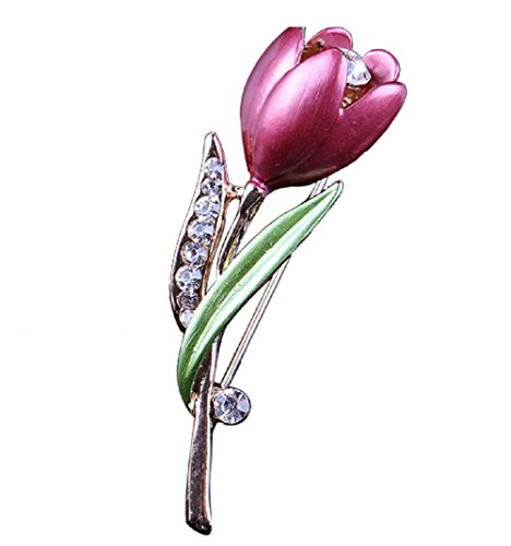 Daisy Jewelry Womens Girls Rose Flower Brooches Crystal Brooch Pins