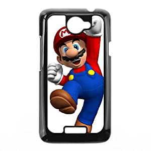 HTC One X Cell Phone Case Black Super Mario Bros Durable 3D Phone Case Cover XPDSUNTR25154