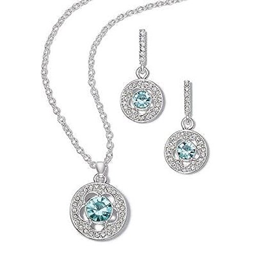 Avon Faux Earrings (Baby Blues Necklace and Earring, Gift)