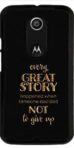 Funda para Motorola Moto X (Génération 2) - Cada Gran Historia by UtArt
