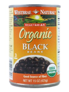 Westbrae Natural: Organic Black Beans (7 x 15 oz)