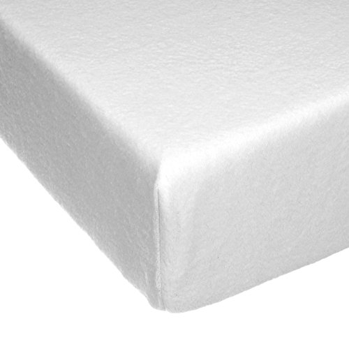 Glenna Jean Cottage Collection Willow Fitted Sheet, White Softee