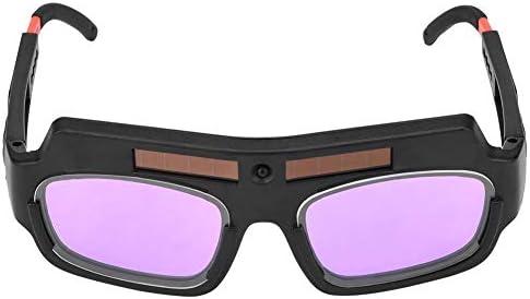 Acogedor 溶接メガネ、溶接保護メガネ、軽量、高効率、太陽光発電、自動遮光、 使用便利