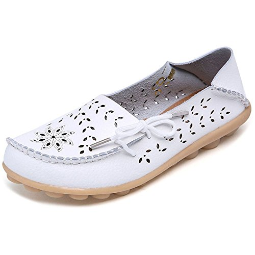 2016 Woman New White Shoes Flat Casual Shoes Women Lace up Shoes - 9