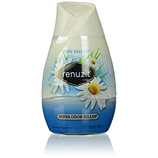 Renuzit Adjustables Gel Air Freshener, Pure Breeze, 7.0 Ounce