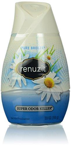 (Renuzit Adjustables Gel Air Freshener, Pure Breeze, 7.0 Ounce)