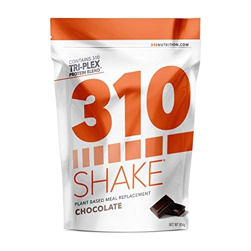Chocolate Plant Protein and Meal Replacement Shake | 310 Shake is Gluten and Dairy Free, Soy Protein and Sugar Free | Includes Recipe eBook | 28 Servings by 310 Nutrition