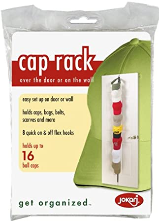Image Unavailable. Image not available for. Color  Over The Door Hanging Cap  Rack 1845ee822564