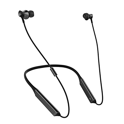 Bluetooth Headphones IPX7 Sweatproof, Wireless Sports Earbuds Premium HiFi Stereo, Knowles Balanced Armature Drivers, 12H Battery Noise Cancelling in-Ear Headsets w/Mic & Magnetic Connection