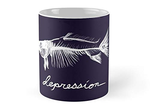 - Depression 11oz Mug - Made from Ceramic - Best gift for family friends