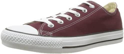 Converse Unisex Chuck Taylor All Star Ox Low Top Classic Burgundy Sneakers - 10 D(M) US