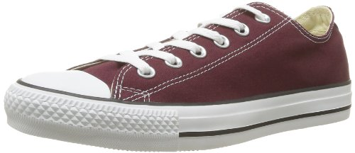Shoes Womens Burgundy (Converse Unisex Chuck Taylor All Star Ox Low Top Classic Burgundy Sneakers - 11.5 B(M) US Women / 9.5 D(M) US Men)