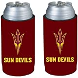 NCAA 2013 College Ultra Slim Beer Can Holder Cooler 2-Pack