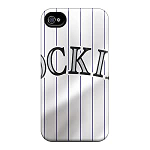 Bumper Hard Phone Covers For Iphone 6 (VMV15905wYOU) Support Personal Customs Trendy Colorado Rockies Series