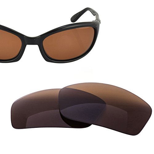 LenzFlip Replacement Lens for Costa del Mar HARPOON Sunglass - Brown Polarized