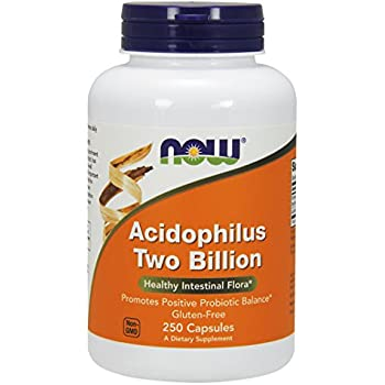 NOW Acidophilus Two Billion,250 Capsules